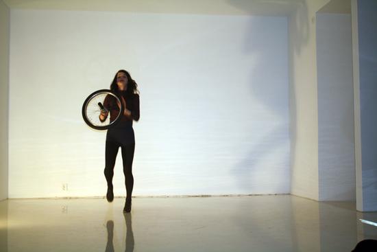 A readymade wheel performance ( 1st floor)